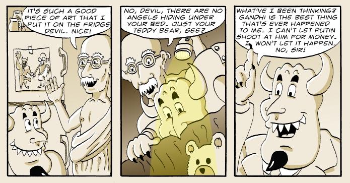 Devil and Gandhi The Games