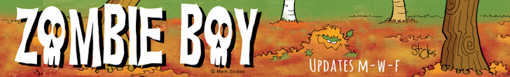 Zombie Boy Comics